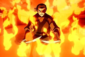 Zuko On Fire2