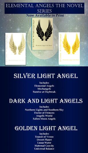 Elemental Angels the Novel Ad for eBooks