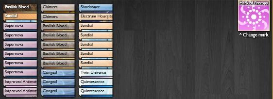 Element deck Singularity