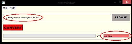 Sdplay file select