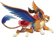 Elena Riding With Skylar