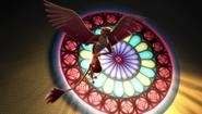 Luna distracting Shuriki
