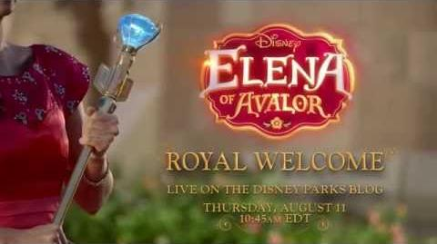 Elena of Avalor - Royal Welcome On Disneyland August 11
