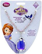 Sofia The First Amulet With Rhinestone