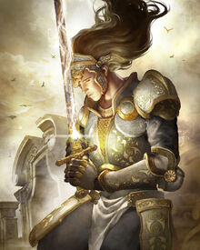 Prayer paladin by elle shengxuan shi-d6orcm2