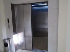 Hyundai elevator freight doors