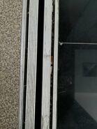 Dirty Hyundai doorsill