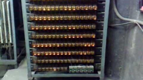 YEAR1981 320 relays,1280 contacts, 35 resistors it would take to build an elevator controller