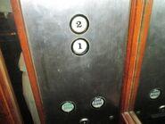 Mitsubishi 80s buttons IBR