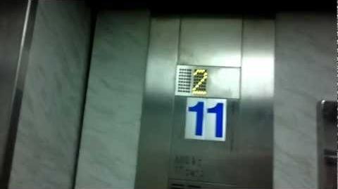 Montien Riverside Hotel, Bangkok Old Schindler Traction Parking Elevators