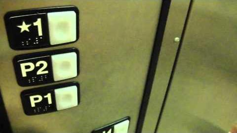 Schindler Low Pitched Hydraulic elevator @ Bedford Courthouse with musicfreakcc & Nudge Mode