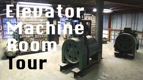 Elevator Machine Room Tour 1965 Otis Gearless Traction elevator Relay Logic Unit-0