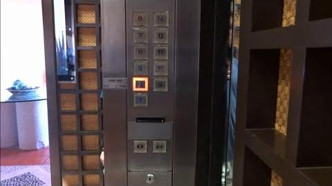 Mitsubishi Elevators - Westin Resort and Spa, East - Puerto Vallarta, Mexico