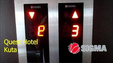 Sigma Traction Elevators at Quest Hotel Kuta, Bali