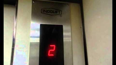 ORIGINAL Indolift Service Elevator at Inna Garuda Hotel (Extension), Yogyakarta
