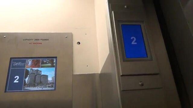 File:OTIS Compass destination display on door jamb.jpg