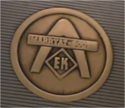 MS logo escalator