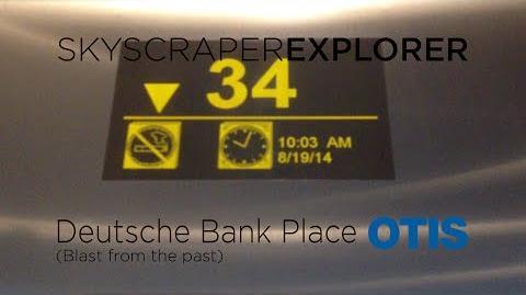 SKYSCRAPER EXPLORER- Otis Skyway Hi-speed Traction Lifts @ Deutsche Bank Place