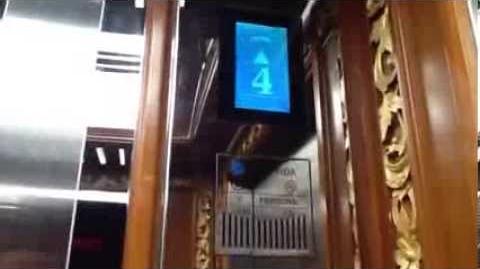 Fuji Yida Traction Elevator at Nusa Dua Beach Hotel, Bali (South, Part 1)