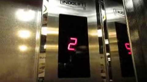 Indolift Traction Elevator at Sanur Paradise Plaza Hotel, Bali (Lift 5)