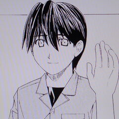 Kouta as he appears in most manga chapters