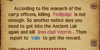 Iron-clad Vermin Quest