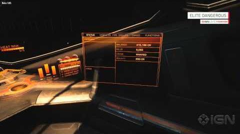 Elite Dangerous Gameplay Demo - IGN Live Gamescom 2014-1