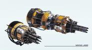 Image Weapon Mining-Laser