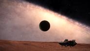 2300 ly below galactic plane