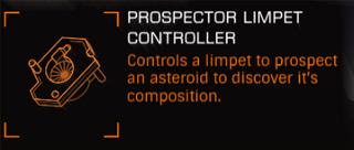 ProspectorLimpetController Ingame