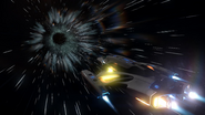 Elite Dangerous hyperspace jump