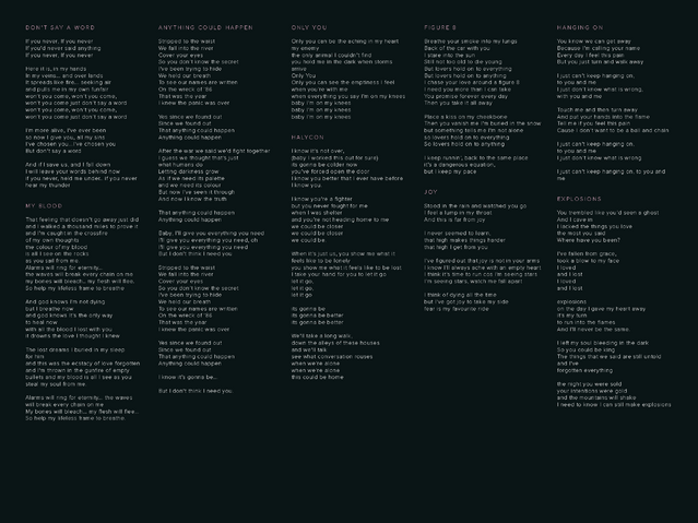 File:Digital Booklet - Halcyon (Deluxe) Page 4.png