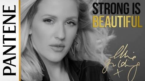 Ellie Goulding Strong Is Beautiful New Pantene Ambassador