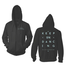 Keep On Dancing Zip Hoodie: £50.00