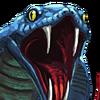 Twin Cobras Portrait