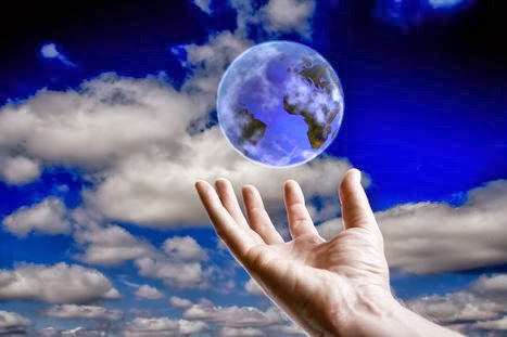 Law-of-attraction-globe