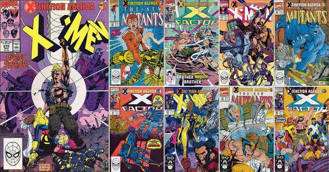 File:X-Men Extinction Agenda full set.jpg