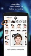 Emblem3 app screenshot 2