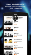 Emblem3 app screenshot 5