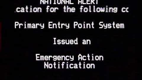 Emergency Action Notification Emergency Alert System