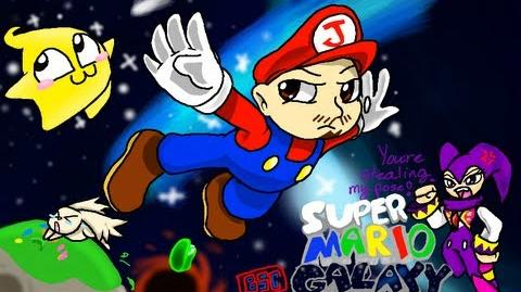 Super Mario Galaxy - Part 1 The night Miyamoto went nuts on the storyboard