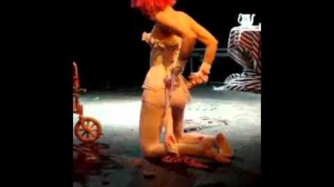 Emilie Autumns burlesque show
