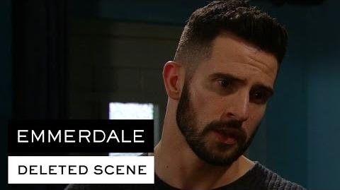Emmerdale Deleted Scene - Ross quizzed over Charity
