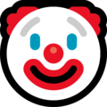 Clown Emoji - Microsoft
