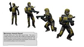 Merc Assault Squadron