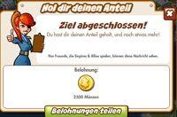 Hol dir deinen Anteil Belohnung (German Reward text)