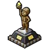 Goal Soldier Statue