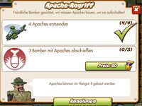 Apache-Angriff (German Mission text)