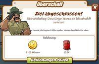 Überschall Belohnung (German Reward text)