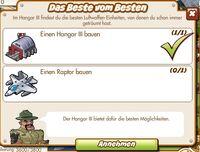 Das Beste vom Besten (German Mission text)